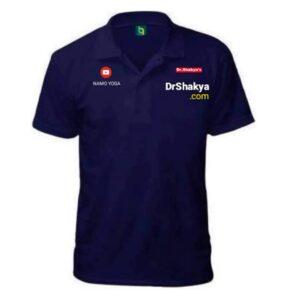 dr.shakya Men Polo Neck T-Shirt