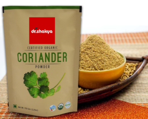 dr.shakya Organic Coriander Powder, 200 Grams
