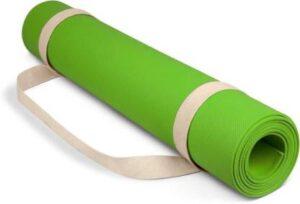 dr.shakya100% EVA Eco Friendly Yoga Mat, Exercise & Gym Mat GREEN 4mm
