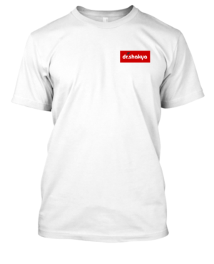 dr.shakya Men's Regular Fit T-Shirt White