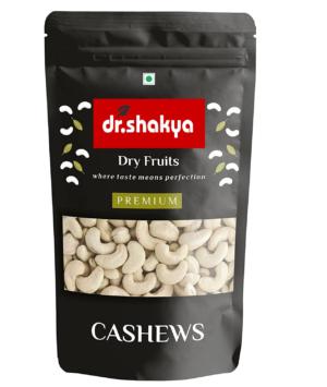 dr.shakya 100% Natural Premium Whole Cashews, 200g