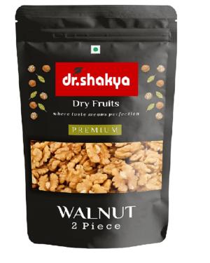 dr.shakya Premium 100% Natural Californian Walnut Kernels, 200g