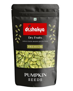 dr.shakya Premium Pumpkin Seeds – Roasted, Lightly Salted Pouch, 200 g