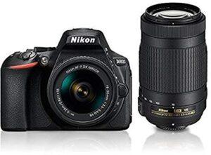 Nikon D5600 with AF-P 18-55 mm + AF-P 70-300 mm VR Kit