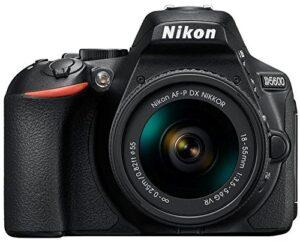 Nikon D5600 Digital Camera 18-55mm VR Kit (Black)