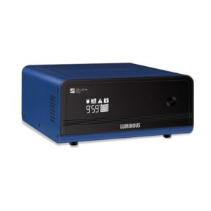 Luminous Zelio 1100va Home Pure Sinewave Inverter UPS – 2 Years Warranty, Black