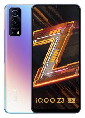 iQOO Z3 5G (Cyber Blue, 8GB RAM, 128GB Storage)   India's First SD 768G 5G Processor   55W FlashCharge   Upto 6 Months No Cost EMI   Extra 2000 Off on Exchange