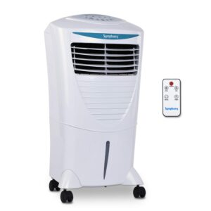 Symphony Hicool i Personal Cooler with Remote – 31 Liter(White)