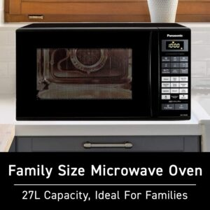 Panasonic 27L Convection Microwave Oven(NN-CT645BFDG,Black, Magic Grill)