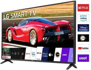 LG 80 cm (32 inches) HD Ready Smart LED TV 32LM563BPTC (Dark Iron Gray) (2020 Model)