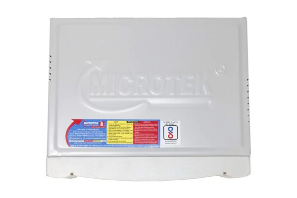 Microtek UPS EB 700 VA UPS Inverter; Grey