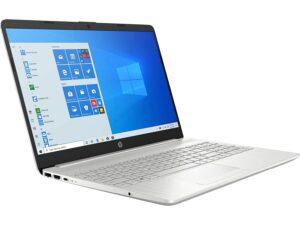 HP 15 (2021) Thin & Light Ryzen 3-3250 Laptop, 8 GB RAM, 1TB HDD + 256GB SSD, 15.6″ (39.2 cms