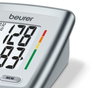 Beurer Automatic Upper Arm Blood Pressure Monitor, Separate Cuff, LCD Display (BM35) With 5 Years Warranty