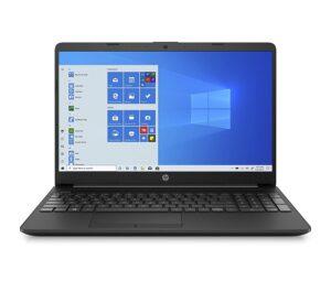 HP 15 10th Gen Intel Core i3 Processor 15.6-inch(39.6 cm) FHD Laptop (8GB/256GB SSD+1TB HDD/Windows 10/MS Office/Jet Black/1.74Kg)